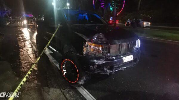 Imprudente conductor arrolla y mata a trabajador hotelero en Cancún