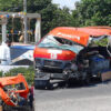 Aparatoso choque deja tres muertos en Tabasco