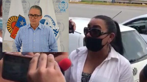 Video: Abortan manifestación familiares de desaparecidas en Cancún
