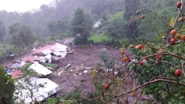 Deslave en Chiapas deja un muerto y dos desaparecidos