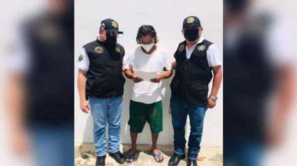 Detienen a sujeto por ultrajar a una menor en Kanasín