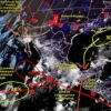 Clima: Se pronostican lluvias fuertes para hoy en Quintana Roo.