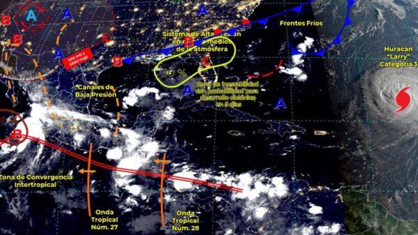 Pronóstico del clima para hoy martes 7 de septiembre en Quintana Roo.