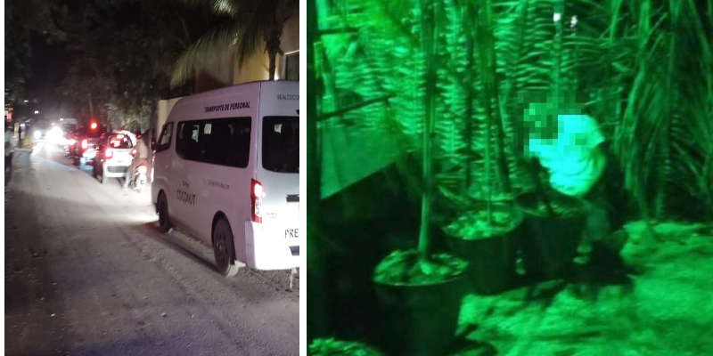 Ejecutan a balazos a un taxista en la Zona Hotelera de Cancún.