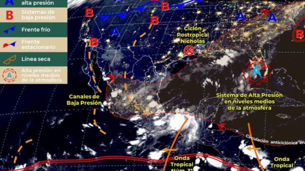 Clima: Probabilidad de chubascos para hoy viernes en Quintana Roo.