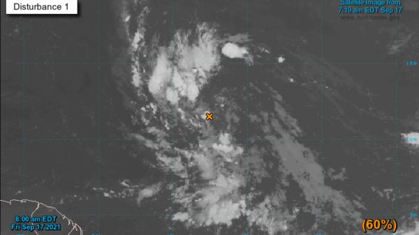 Quintana Roo: Vigilan 3 zonas de baja presión en el Atlántico.