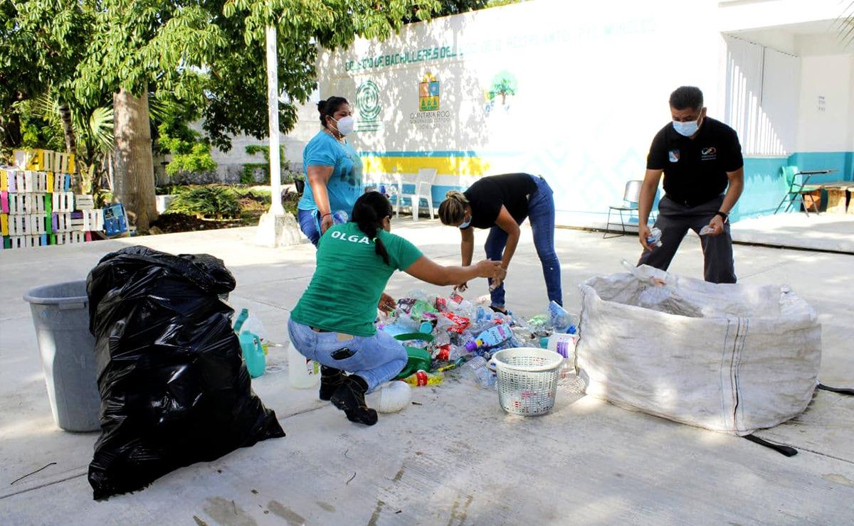 Participa gobierno de Puerto Morelos en la recuperación del colegio Bachilleres
