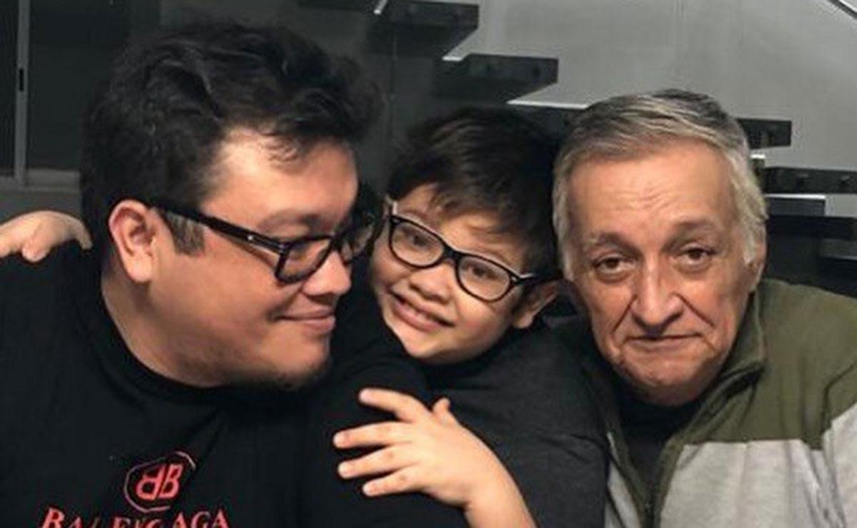 """Fallece el papá de Franco Escamilla; """"se fue el más alfa de los alfas"""""""
