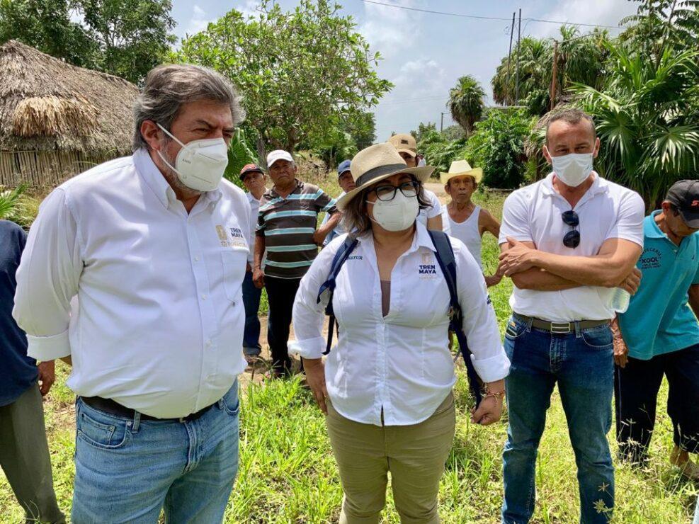 Fonatur y dignatarios mayas evalúan condiciones de centros ceremoniales