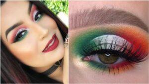 Celebra este 15 de septiembre luciendo maquillaje estilo patrio