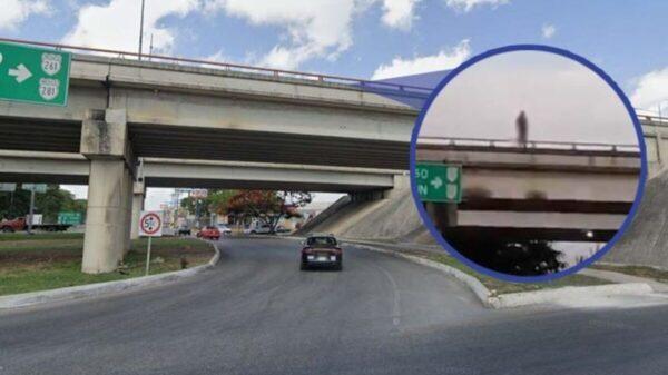En Mérida, joven se intenta suicidar lanzándose de puente