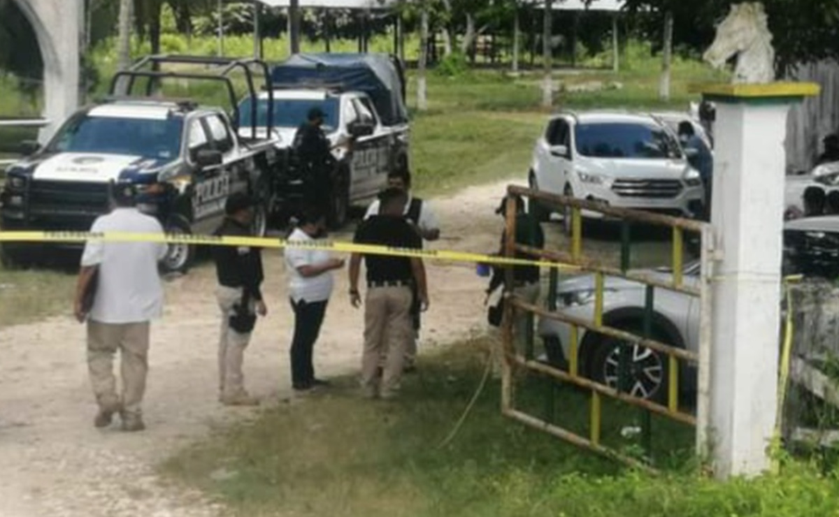Rancho La Noria en Chetumal, presunto matadero de sicarios: FGE