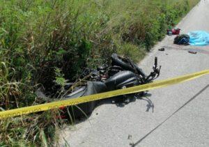 Muere motociclista tras chocar con camioneta de valores en Yucatán