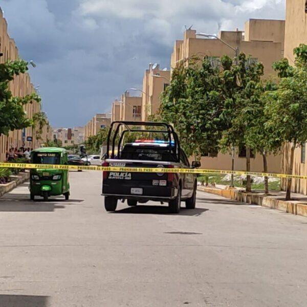 Ejecutan a conductor de mototaxi en la Región 251 de Cancún