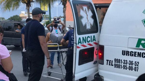Cancún: Mujer escapa de su pareja tras recibir golpiza y denuncia en FGE
