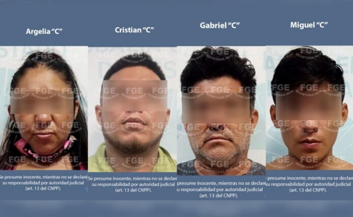 Cateo de la FGE acaba con banda de narcomenudistas en Cozumel