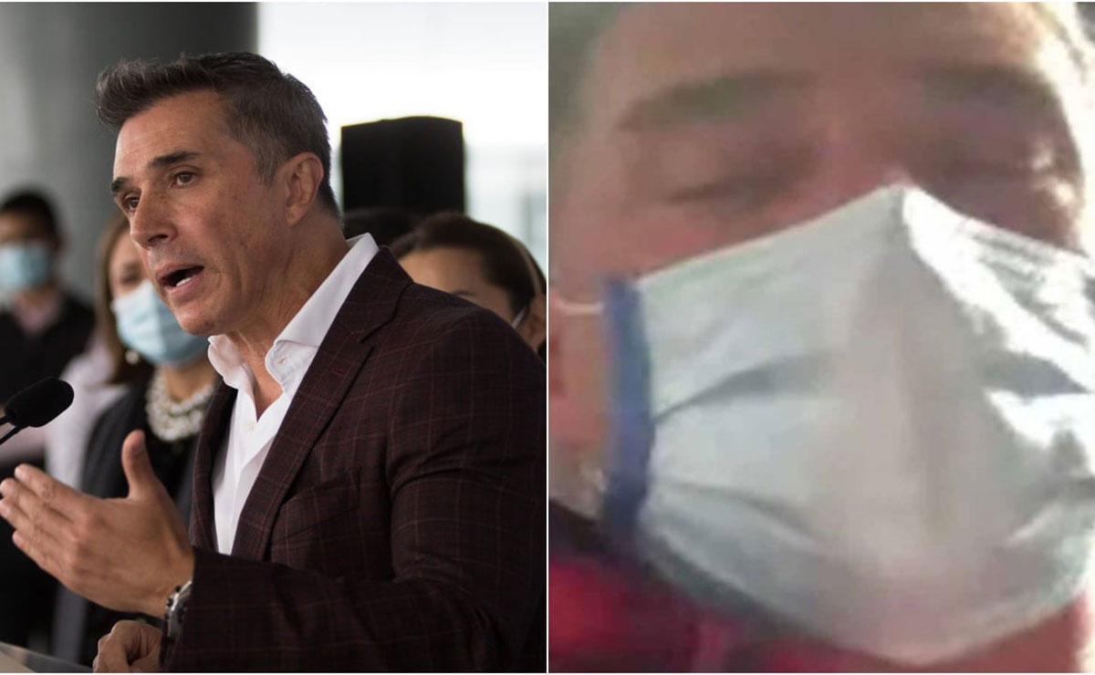 Reaparece Sergio Mayer tras haber sido hospitalizado a causa de un virus