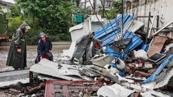 Sacude sismo de 6 grados a China; deja tres muertos y cerca de 60 heridos