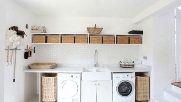 Tips para organizar el cuarto de lavado sin importar su tamaño