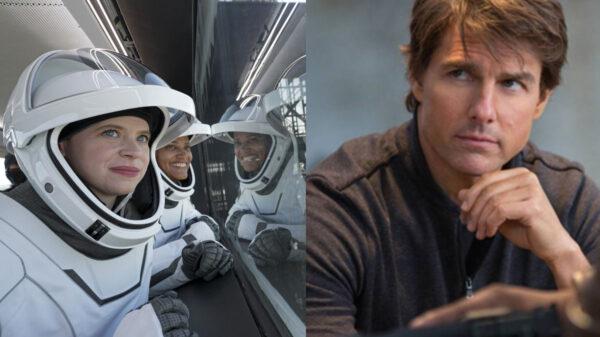 Tom Cruise logra hablar con los turistas de Space X