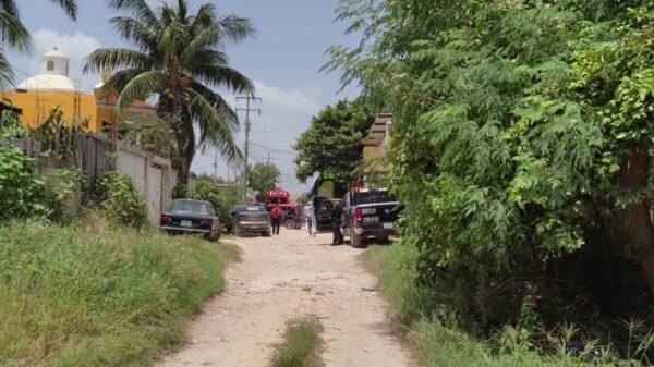 Cancún: Ejecutan a balazos a un hombre en la colonia San Vicente (VIDEO).