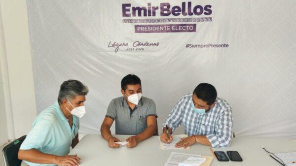 Trabajan para el regreso a clases presenciales en Lázaro Cárdenas.