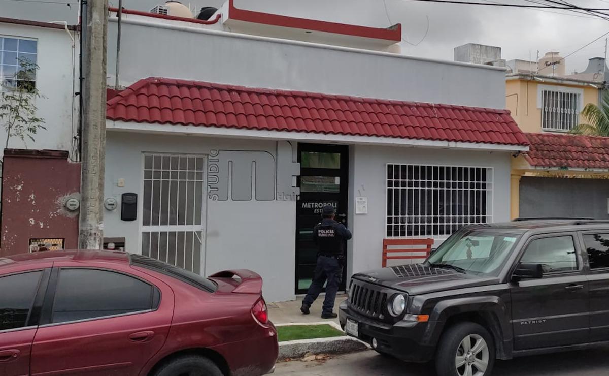 Cancún: Sujetos armados asaltan estética en la SM 50
