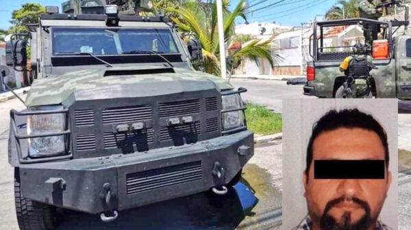 """Captura Ejército Mexicano a """"El Pantera"""" del CJNG en Campeche"""