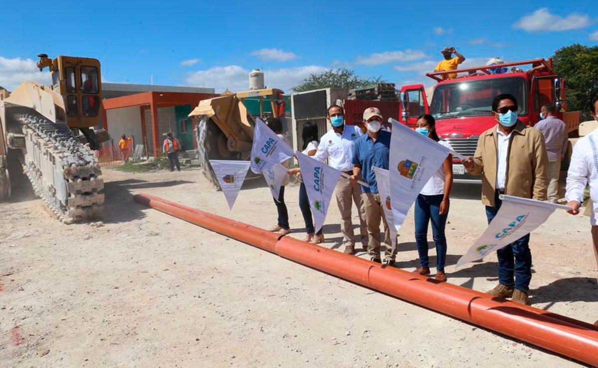 En Quintana Roo la gente vive mejor con servicio de agua potable de calidad