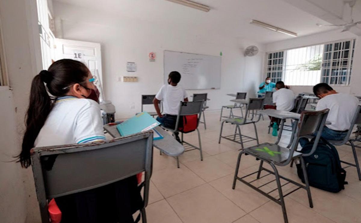 Detectan primer caso de covid-19 en escuela de Quintana Roo