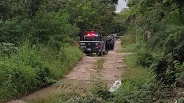 Cancún: Encuentran a ejecutado a balazos en colonia El Pedregal