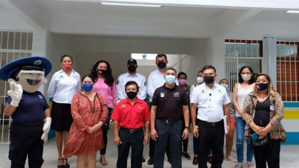 Puerto Morelos, municipio comprometido con un regreso responsable y ordenado a las escuelas