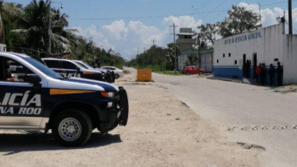 Fuga en cárcel municipal de Playa del Carmen desata cacería de evadidos