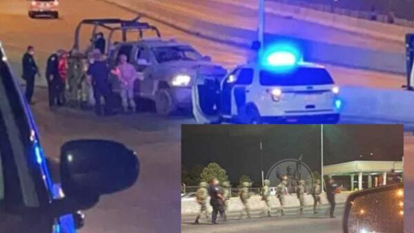 Detienen a 7 soldados mexicanos por invadir territorio norteamericano