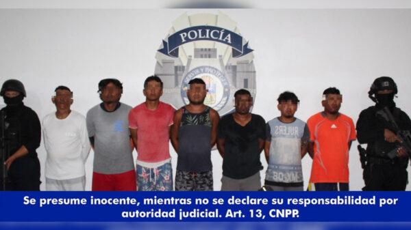 Cancún: Detiene Policía Quintana Roo a banda de narcomenudistas