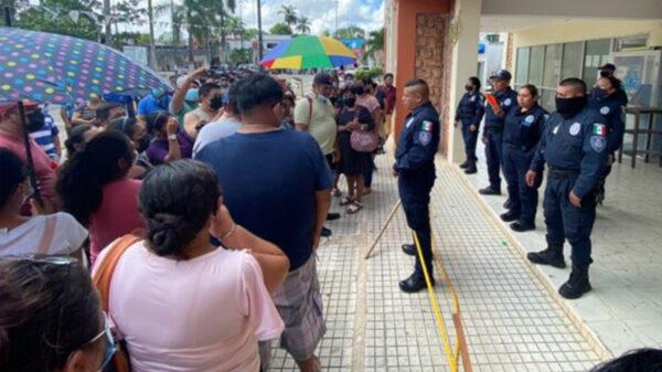 Palacio municipal de FCP es tomado ahora por los policías