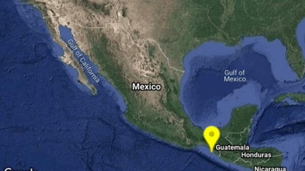 Se reporta sismo de 5.3 grados en Chiapas