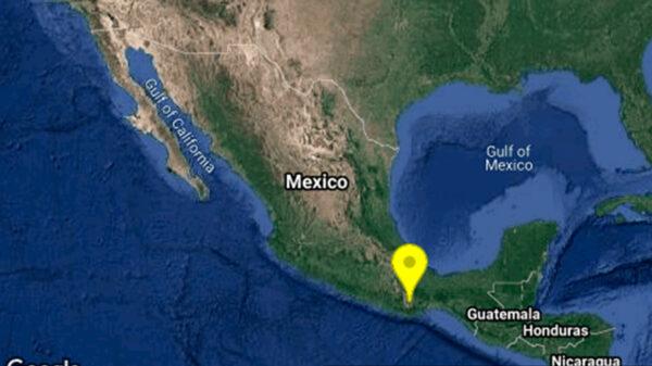 Detecta el Sismológico Nacional sismo de 4.8 grados en Oaxaca