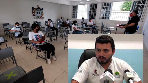 Suspenden autoridades a cuatro escuelas en Quintana Roo