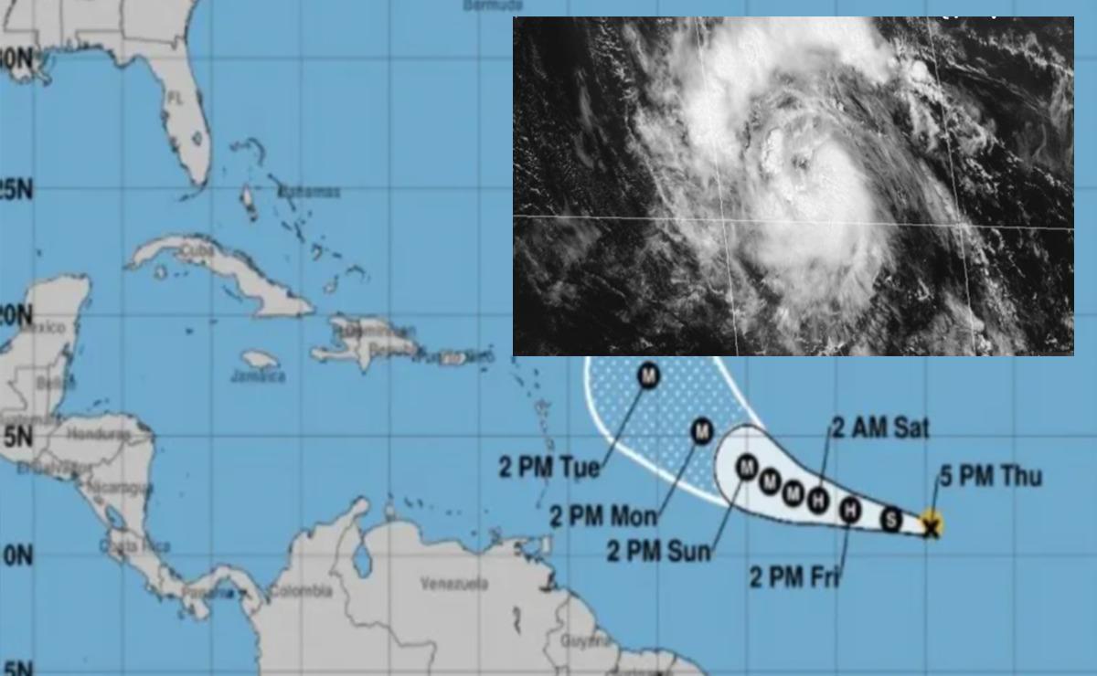 """Sam"" ya es Tormenta Tropical y será huracán categoría 3"