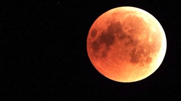 Octubre mes en el que se apreciará la espectacular Luna de Sangre