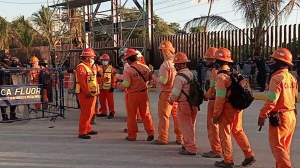 Se normalizan los trabajos en la refinería de Dos Bocas en Tabasco.