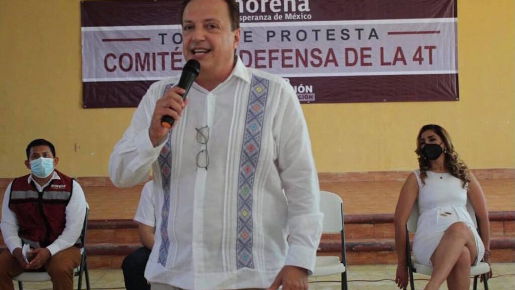 'Todos tienen el derecho legítimo a aspirar a la candidatura a la gubernatura': Luis Alegre Salazar