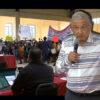 """Manifestantes irrumpen reunión de AMLO en Puebla: """"¿Me van a dejar hablar?¿Me van a respetar?"""