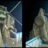 Barco camaronero saca vehículo del mar en Mazatlán