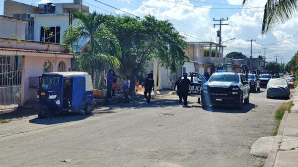 Cancún: Balean fachada de domicilio en la SM 236