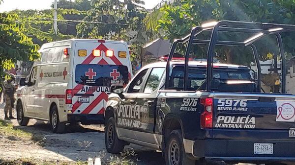 Cancún: Atacan a balazos a un hombre en la SM 235