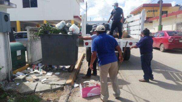 Inicia recolecta de basura con carros particulares en Kantunilkín