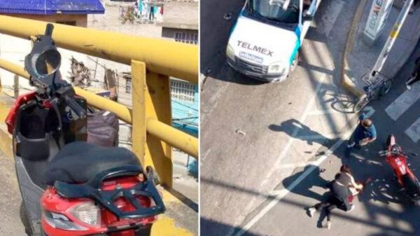 Dos mujeres mueren al caer de un puente tras salir proyectadas de una motoneta