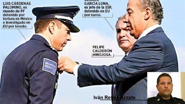 Enmudece Calderón ante aceptación de vínculos con el narco de sus policías